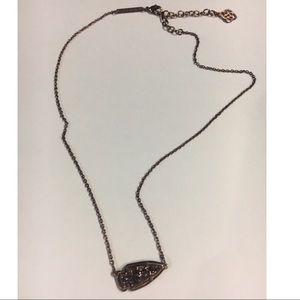 Kendra Scott Chocolate Drusy Necklace